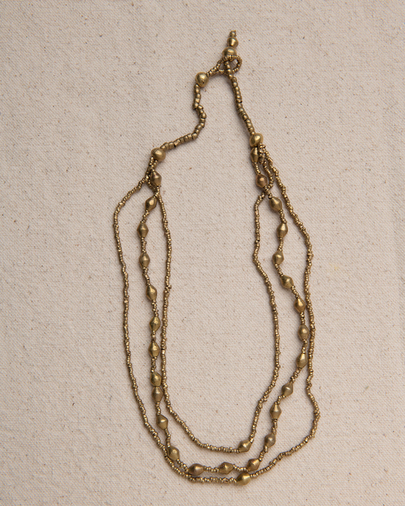 Kidus Three Strand Ammunition Necklace