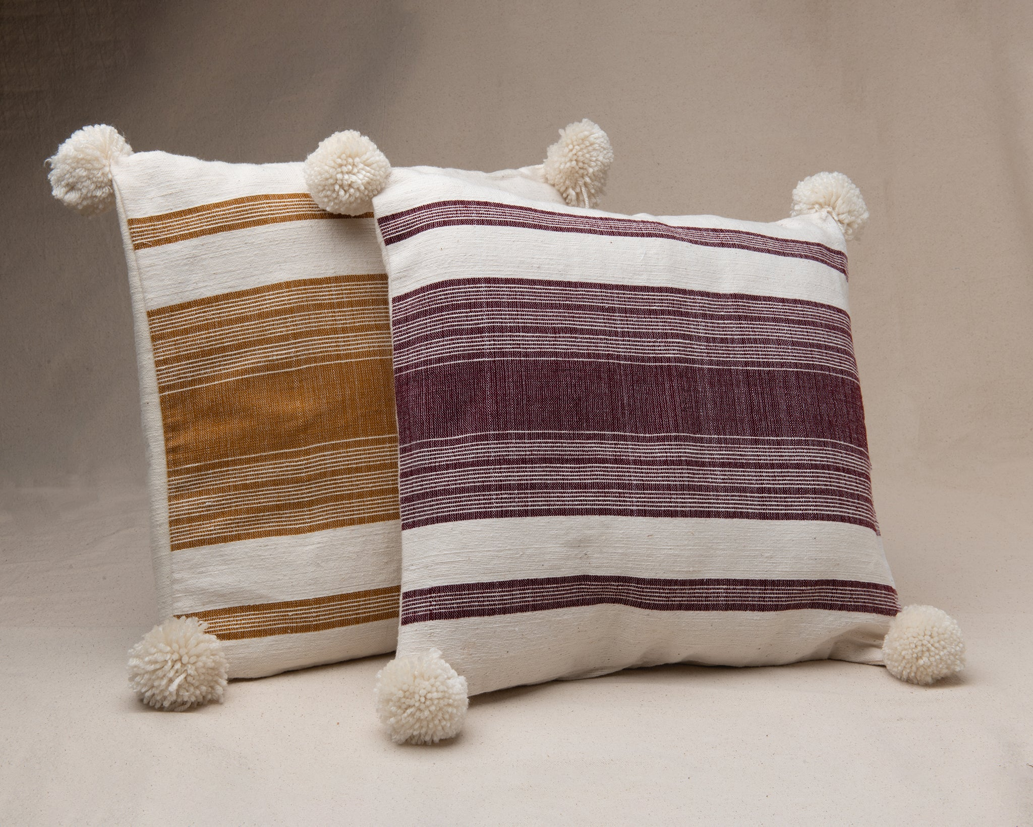 Pillow Cover Hand Woven