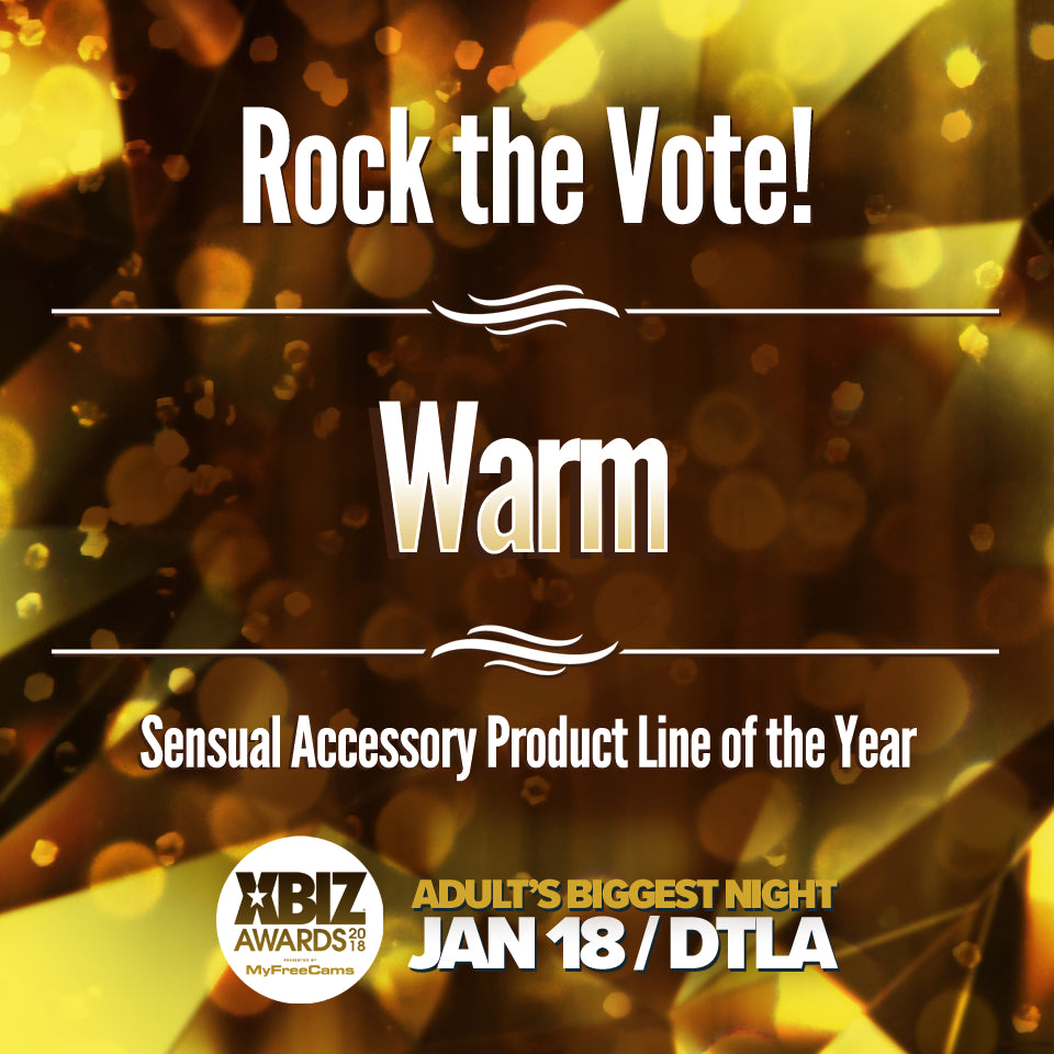 Warm, Inc. receives four nominations for the 2018 XBIZ Awards