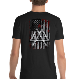 4 AM Nation American Flag & Logo