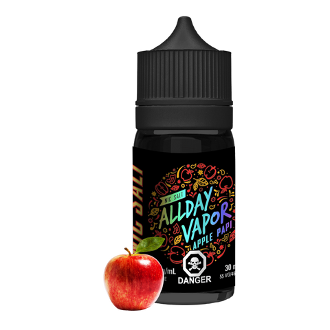 Nic Salt - ALLDAY VAPOR - Apple Papi