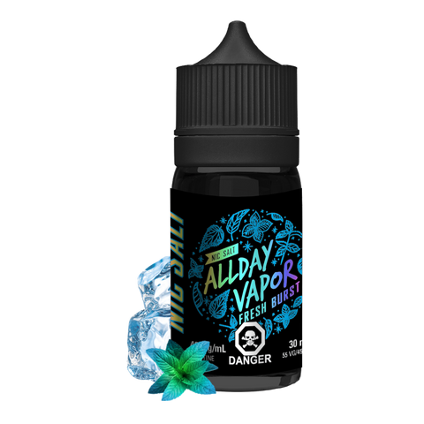 Nic Salt - ALLDAY VAPOR - Fresh Burst