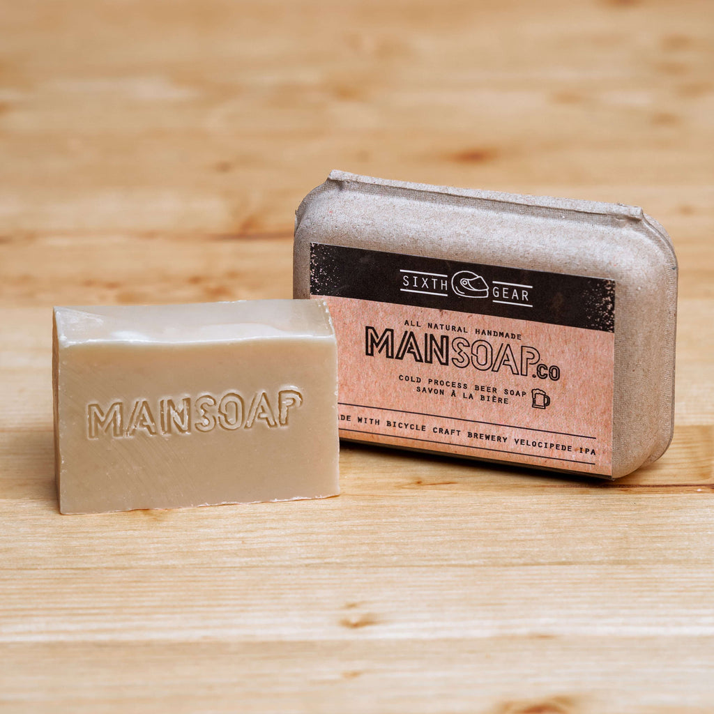 Cold Process Beer Soap