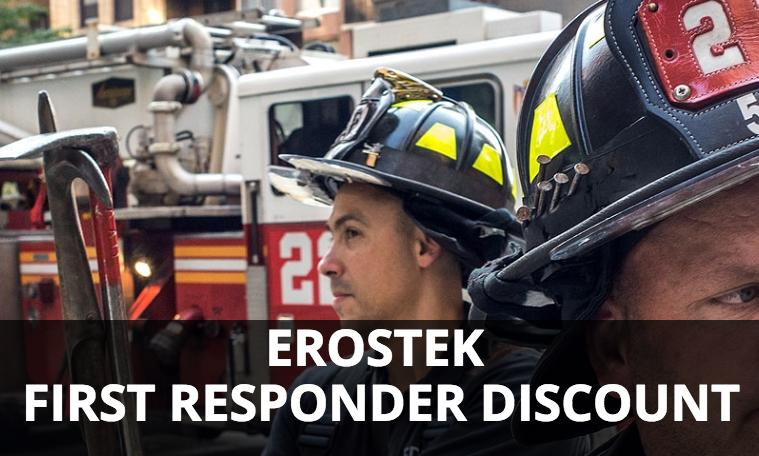 ErosTek 15% OFF First Responder Discount Program