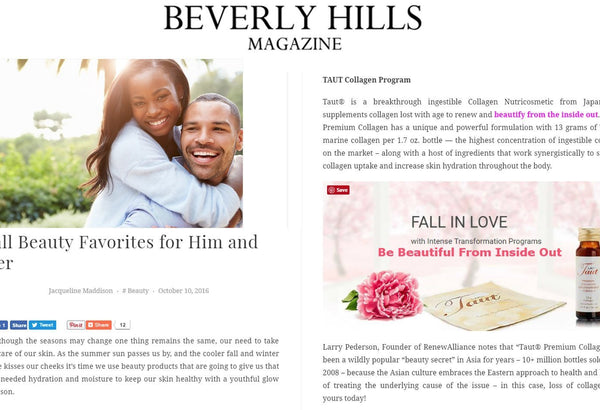 Beverly Hills Magazine | Taut USA