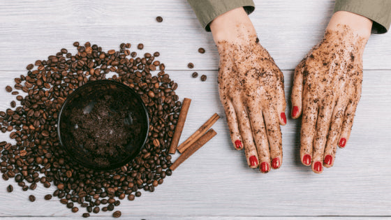 Coffee Scrub to Scrub Away Cellulite