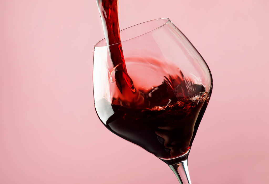 Anti aging supplements wine