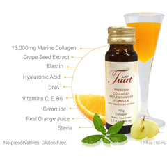 Taut® Premium Collagen Drink (1 box) | Promote Youthful Radiant Skin