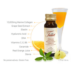 7 key ingredients in Taut Collagen Supplement Drink