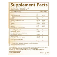 Supplemental Facts for Taut Collagen Drink