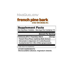 TautUSA Masquelier French Pine Bark supplemental facts