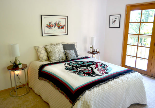 Woven Tapestry Throw Blankets