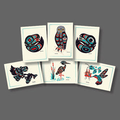 Birds of the Northwest Collection Themed Art Cards