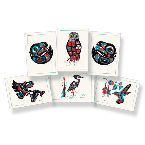 Shotridge Birds of the Northwest Art Card Set