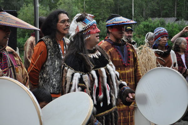Tlingit Native American Ceremony - Israel Shotridge