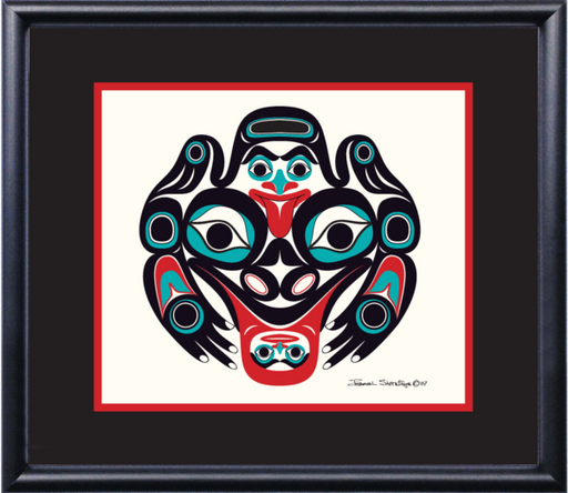 """Frog"" Open Edition Art Print - The Shotridge Collection"