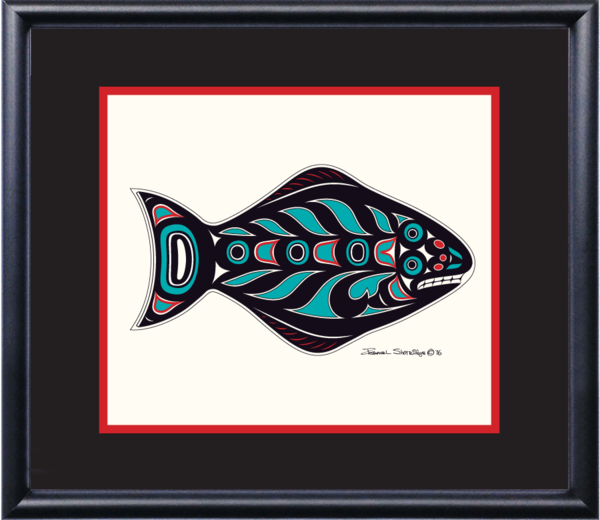 """Halibut"" Open Edition Art Print - Shotridge.com"