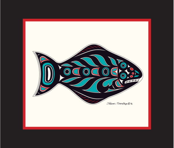"""Halibut"" Open Edition Art Print - The Shotridge Collection"