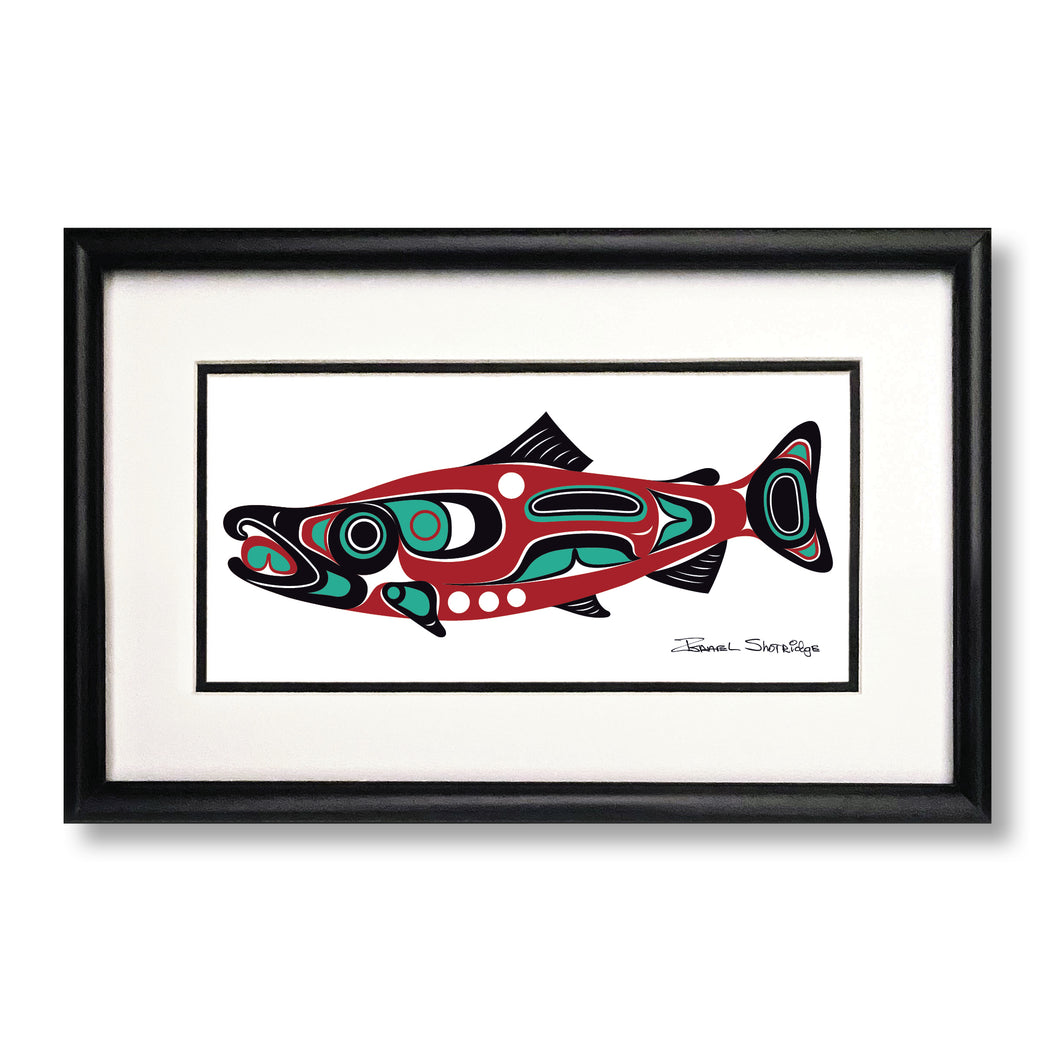 """Northwest Salmon"" Limited Edition Art Print"