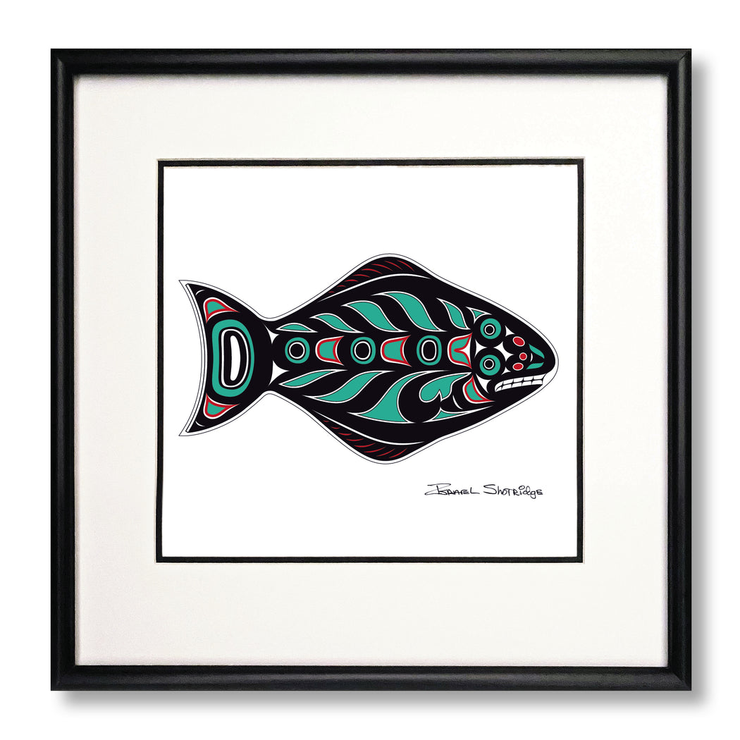 """Halibut"" Limited Edition Art Print"