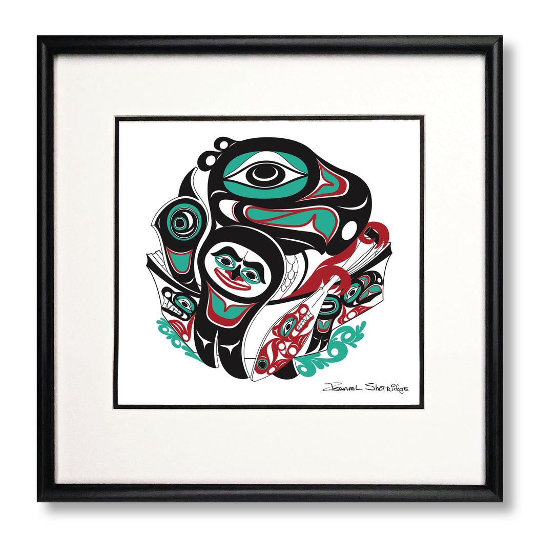"""Going To The Potlatch"" Limited Edition Art Print"