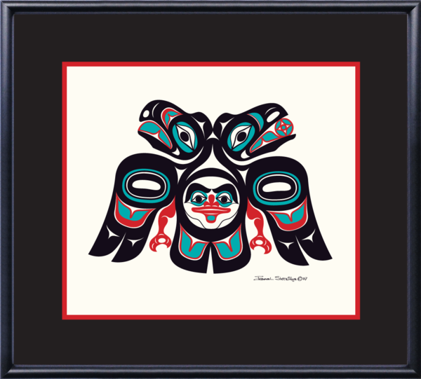 """Lovebirds"" Open Edition Art Print - The Shotridge Collection"