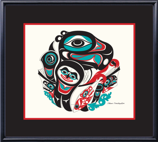 """Going To The Potlatch"" Open Edition Print - Shotridge.com"