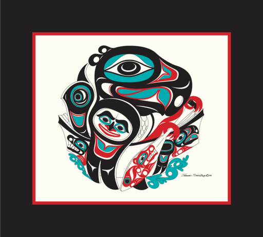 """Going To The Potlatch"" Open Edition Print - The Shotridge Collection"