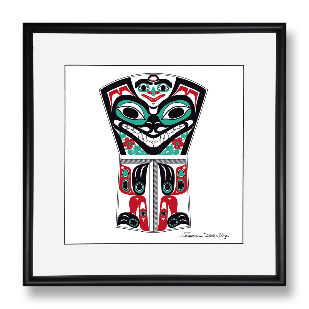"""Bear Copper"" Limited Edition Art Print - The Shotridge Collection"