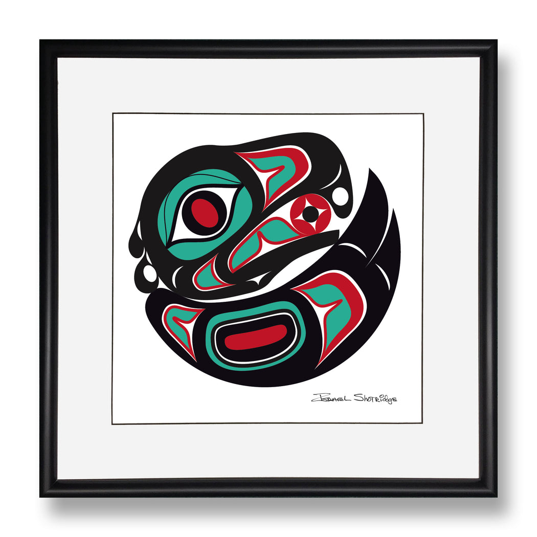 """Eagle"" Limited Edition Art Print - The Shotridge Collection"