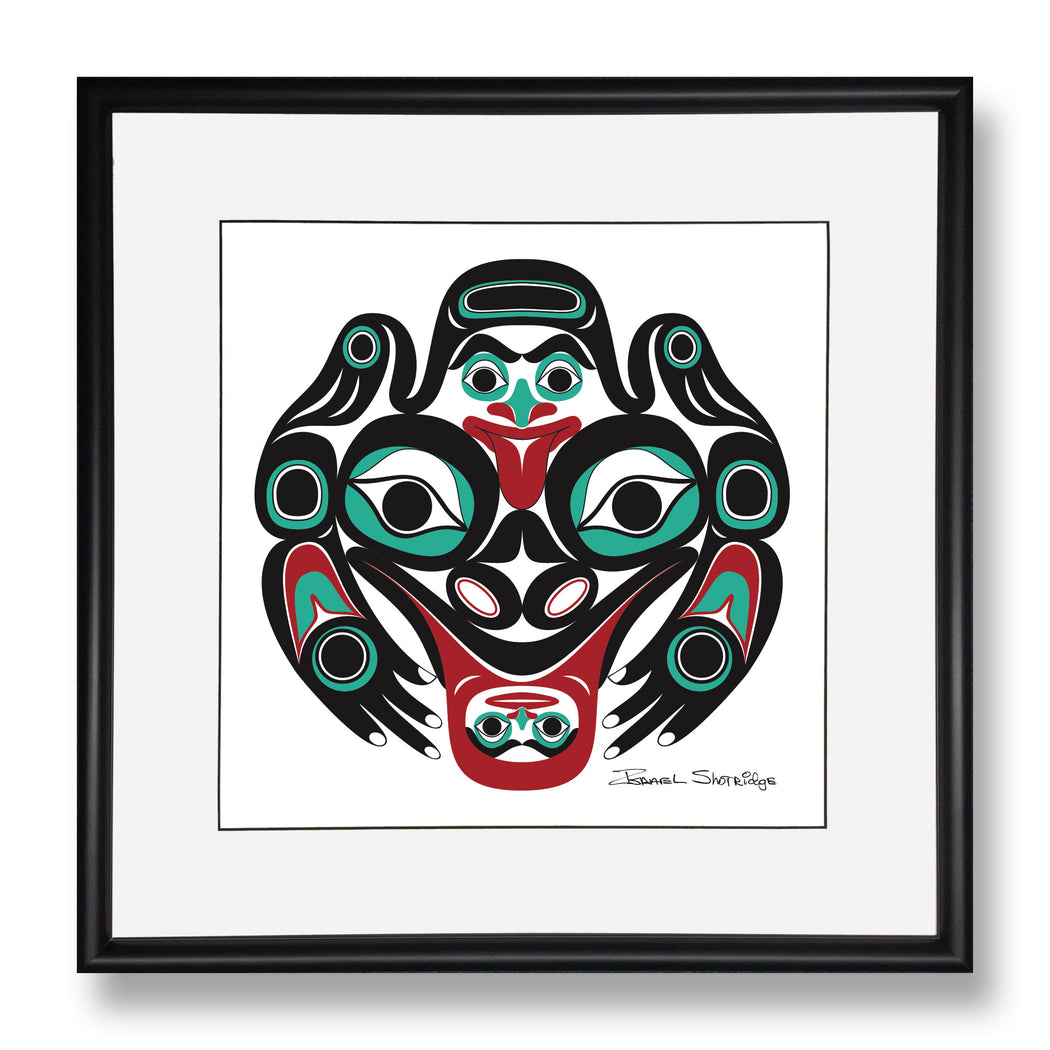 """Frog"" Limited Edition Art Print - The Shotridge Collection"