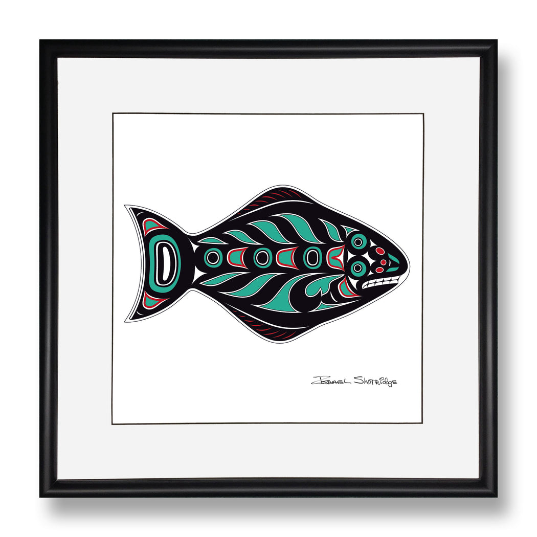 """Halibut"" Limited Edition Art Print - The Shotridge Collection"