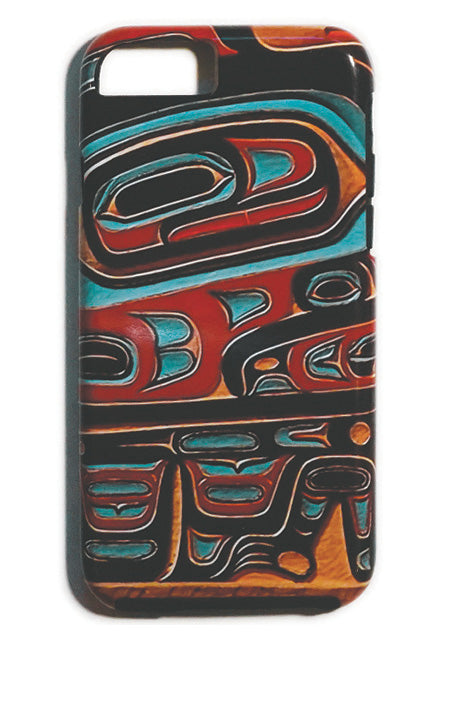 """Bentwood Box"" iPhone Case - The Shotridge Collection"