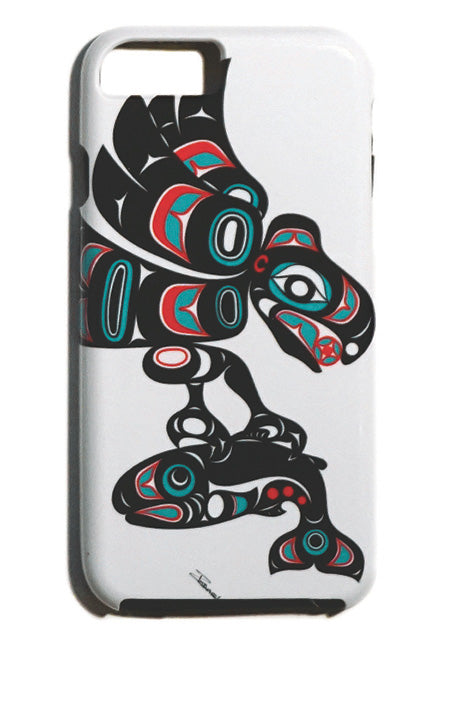 """Eagle & Salmon"" iPhone Case - The Shotridge Collection"