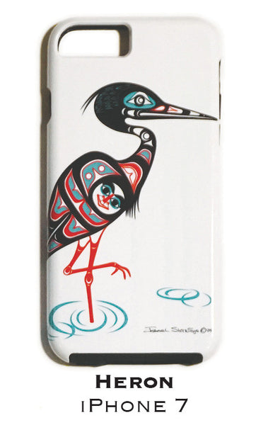 Heron Apple iPhone Case 7/7s