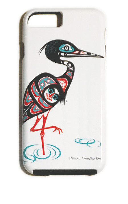 """Heron"" iPhone Case - The Shotridge Collection"