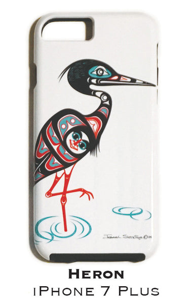 Heron Apple iPhone Case 7+