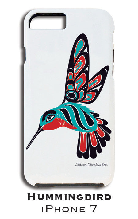 The Hummingbird Apple iPhone Case 7/8 - The Shotridge Collection