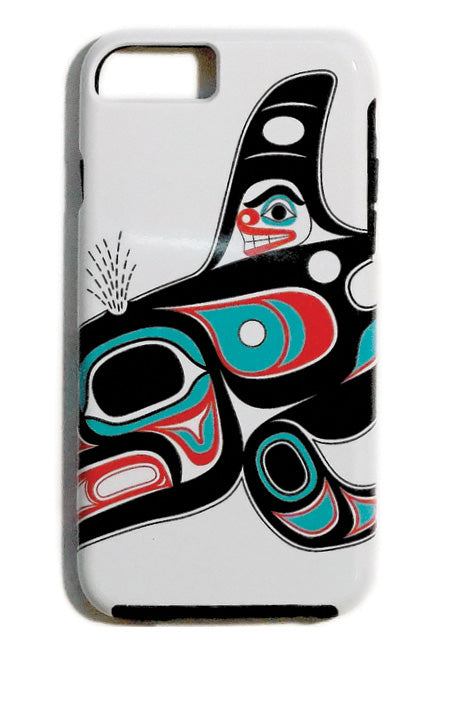 """Killer Whale"" iPhone Case - The Shotridge Collection"