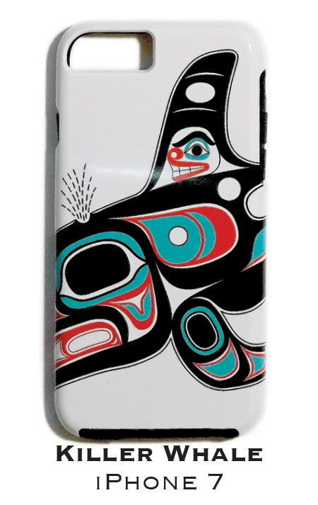 Killer Whale Apple iPhone Case 7/8 - The Shotridge Collection