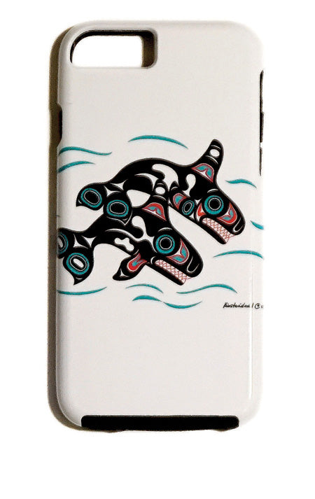 """Orcas"" iPhone Case - The Shotridge Collection"