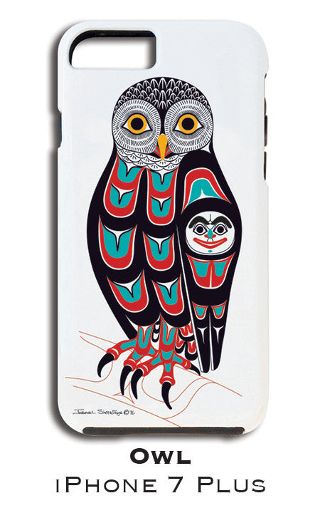 Owl Apple iPhone Case 7+/8+ - The Shotridge Collection