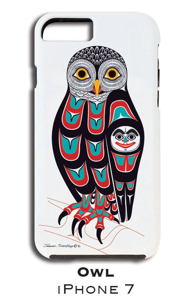 Owl Apple iPhone Case 7/8 - Shotridge.com