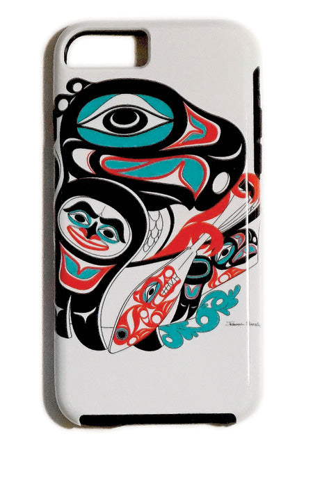 """Going to the Potlatch"" iPhone Case - The Shotridge Collection"