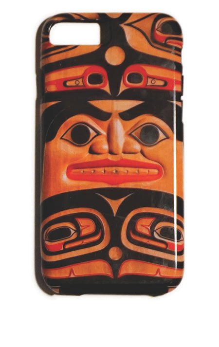 """Spirit Face"" iPhone Case - The Shotridge Collection"