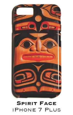Spirit Face Apple iPhone Case 7+