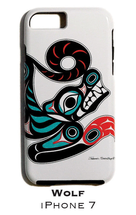 Wolf Apple iPhone Case 7/8 - The Shotridge Collection