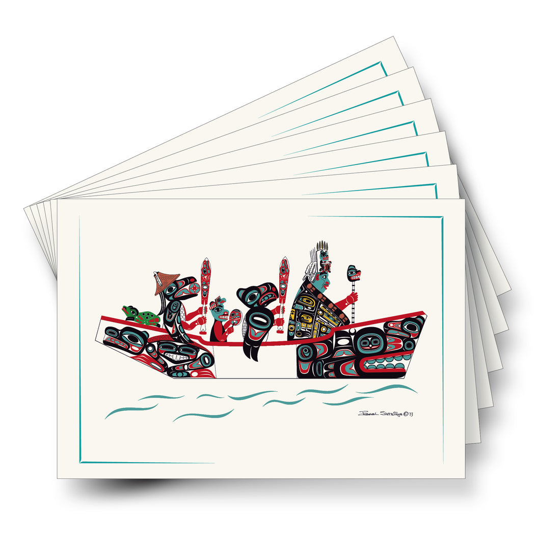 """The Canoe Journey"" Art Cards - Shotridge.com"