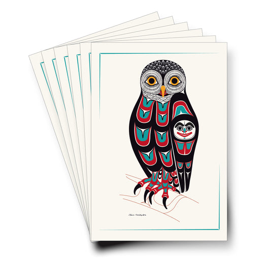 """Owl"" Art Cards - Shotridge.com"