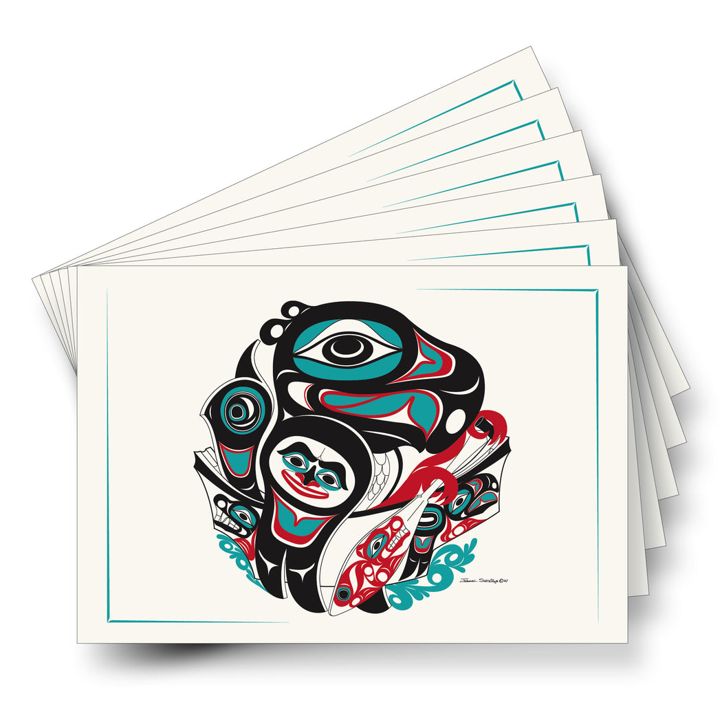 """Going To The Potlatch"" Art Card - Shotridge.com"